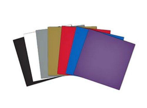 "Adhesive Craft Vinyl 12""x12"" sheets-10 pieces"